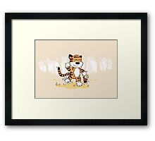 My Stuffed Kid Framed Print