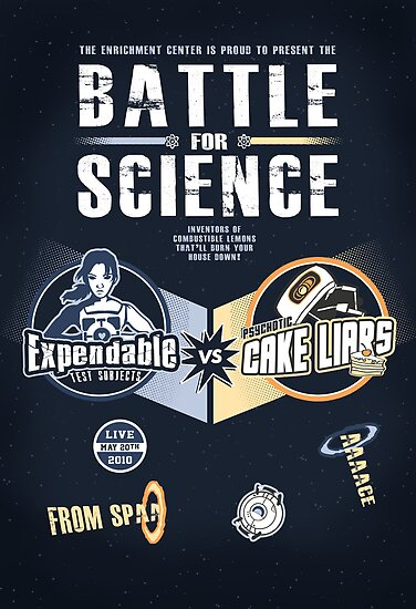 Battle for Science - V2 by thehookshot