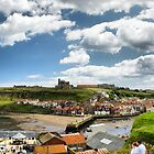 Whitby Panorama by Maria Tzamtzi