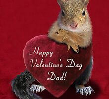 Valentine's Day Squirrel by jkartlife