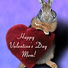 Valentine&#x27;s Day Bunny Rabbit by jkartlife
