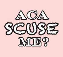 Aca SCUSE me? *no color* by AstroNance