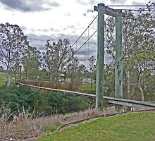 Swing Bridge, Cooyar by Margaret  Hyde