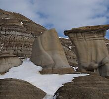 Winter Hoodoos by Heather Eeles