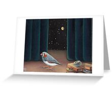 A most peculiar way Greeting Card