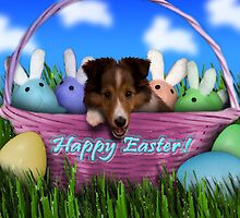 Easter Sheltie Puppy by jkartlife