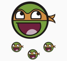Cowabunga Buddy Squad: Michelangelo - Sticker by Cowabunga