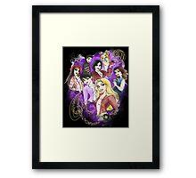 Once Upon a Princess Framed Print