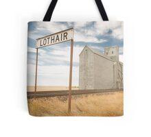 Lothair, Montana Tote Bag