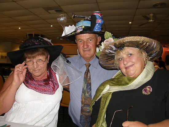 Cup day dress up winners by Elaine Game