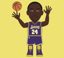NBAToon of Kobe Bryant,  player of Los Angeles Lakers by D4RK0
