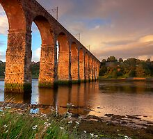 Sunset Bridge by Ursula Rodgers