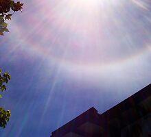 Rainbow Sun Burst by Robert Phillips