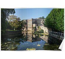Waterway of Little Bath Poster