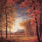 Bierstadt Albert Autumn in America Oneida County New York.   by naturematters