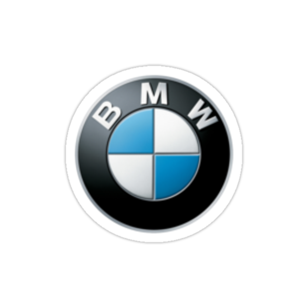 Bmw small logo upper left side by lennium