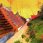 Street in Saintes Marie, Vincent van Gogh.   by naturematters