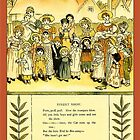 Greetings-Kate Greenaway-Street Show by Yesteryears