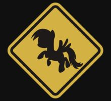 Beware of My Little Pony Road Sign by eZonkey