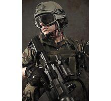 PORTRAIT OF A SOLDIER Photographic Print