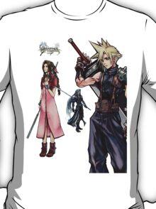 Dissidia 012 Reports Final Fantasy Characters T-Shirt