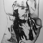 Scrumple - Captain Jack Sparrow by BethanApple