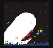 MOBY DICK VS U.F.O. by gerardmisael