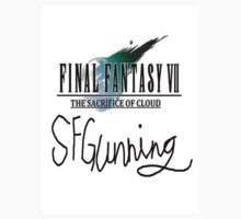 Back T-Shirt Only - FFVII: TSOC With Signed by FFSteF09