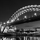 Mono Tyne Bridge by Great North Views