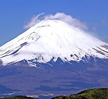 Mount Fuji in Japan by Cebas