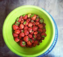 Strawberries by Aleks Kordal