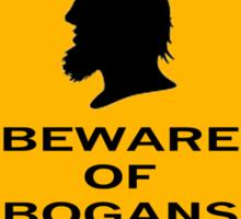 Beware - Bogans (diamond) Sticker