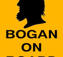Bogans on board (diamond) Sticker