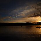 Sunset over Windermere by WillBov