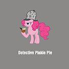 Detective Pinkie Pie by tychilcote
