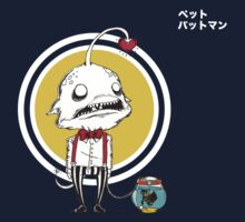 Gentlemen Angler Fish and Pet Batman by plasticmessiah