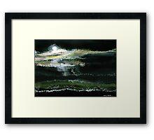 Moon N Light Framed Print