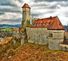 Veldenstein Castle, Bavaria, Germany. by David A. L. Davies