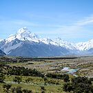 Mount Cook National Park by DebbyScott