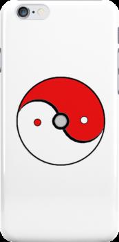 Poke Ball Yin and Yang by TailsP