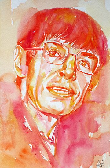 STEPHEN HAWKING by lautir