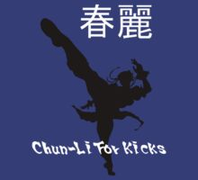 Chun-Li for Kicks Alt. by AWESwanky