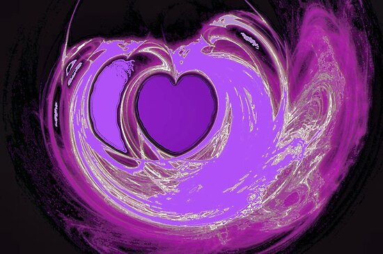 Lavender Heart by aprilann