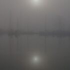 Fog in the Kirkwall Marina by Kye Valongo