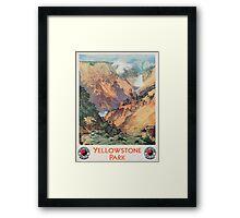 Yellowstone Park, 1934 Framed Print