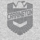 Custom Dredd Badge Shirt - Grey - (Carrington) by CallsignShirts