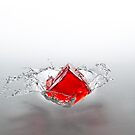 Jelly Cube Splash. by AndrewBerry