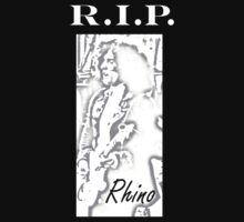 R.I.P Rhino by mirjenmom