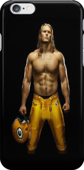 Green Bay Packers: Clay Matthews - Iphone Case  by sullat04