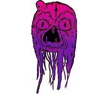 Squid Face Photographic Print